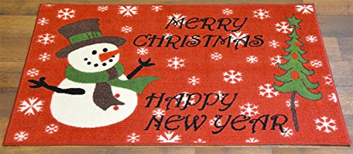 Christmas Doormat Non Slip Rectangular 24