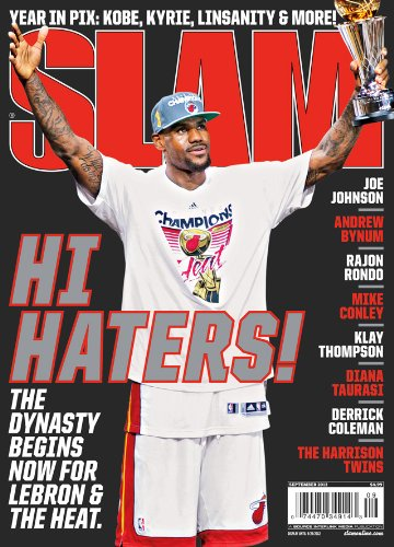 SLAM Basketball Magazine (August 2012) LeBron James - HI Haters!