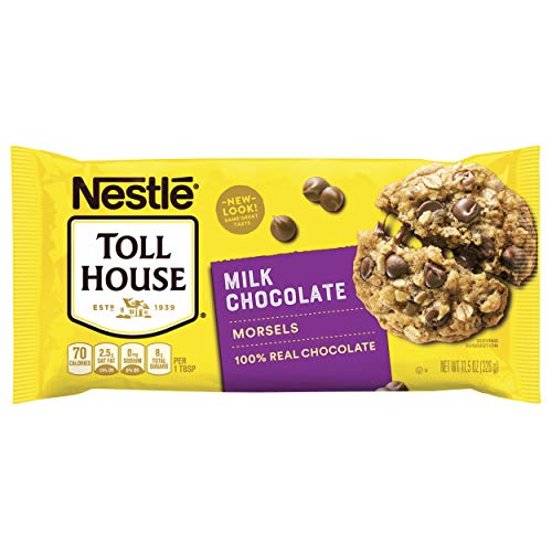 Nestle Toll House Morsels, Milk Chocolate, 11.5 oz Chocolate Semi Sweet Cookies