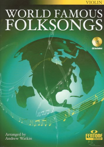 World Famous Folksongs- Violin