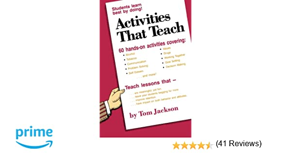 Activities That Teach: Tom Jackson: 9780966463316: Amazon.com: Books