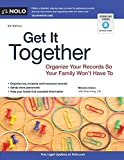 img - for Get It Together: Organize Your Records So Your Family Won't Have To by Melanie Cullen (2012-10-31) book / textbook / text book