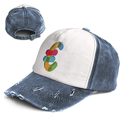 Euro Currency Business Money Unisex Vintage Style Baseball Cap Hat Navy ()