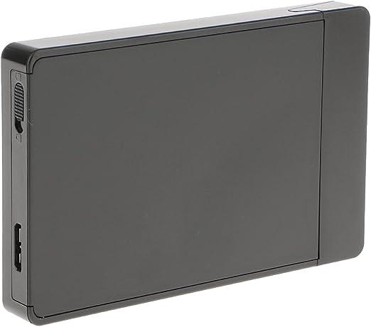 USB3.0 SATA III 2.5 インチ SSD HDD ハードディスクドライブ - ブラック