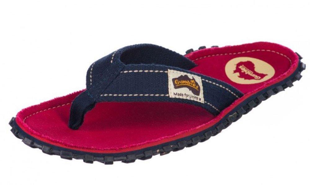 Gumbies Damen Zehentrenner - Rosa/Blau Schuhe in Uuml;bergrouml;szlig;en  44 EU|Coast