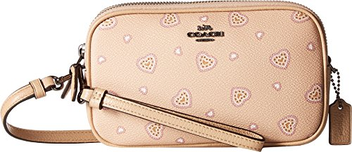Print Western Beechwood Crossbody Dk Heart Heart Clutch in Womens COACH 6Xw8qUO