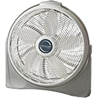 Cyclone 20 In. Power Circulator Fan, Adjustable Fan Head Pivots and Locks in Place for Precision Comfort