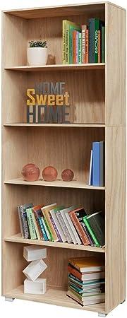 📚La estantería perfecta para su casa o para la oficina!📚,📚Ofrece mucho espacio. Con 5 estantes pa