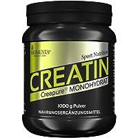 BIOMENTA CREATIN (Creapure) | 1000g Kreatin Pulver | Deutsche Qualität | VEGAN | Für den Kraftsport als Muskelaufbau Pulver | Creatin Monohydrat/Kreatin Monohydrat