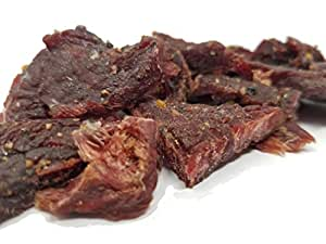 Buc-ees Bohemian Recipe Garlic 100% Beef Jerky Made in Texas From Solid Strips of Beef Ready To Eat 10 Oz.