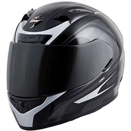 Scorpion EXO-R710 Focus Street Motorcycle Helmet (Silver, Large)