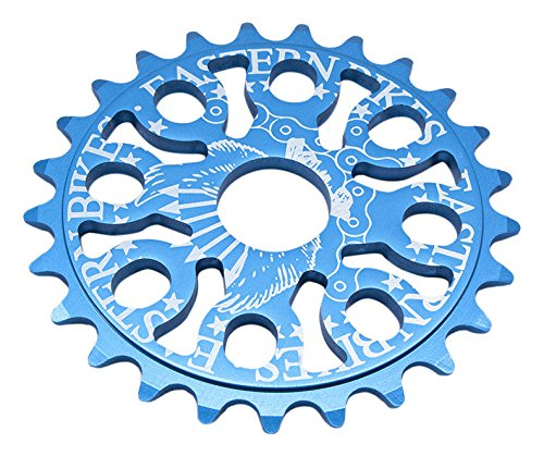 Eastern Bikes Bmx Medusa 25T (7075 Alloy) Sprocket, Matte Blue
