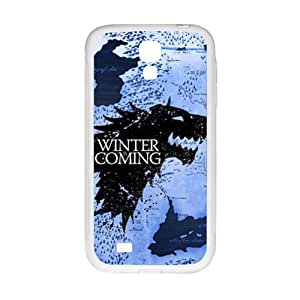 Creative Winter Coming Brand New And High Quality Hard Case Cover Protector For Samsung Galaxy S4 by runtopwell