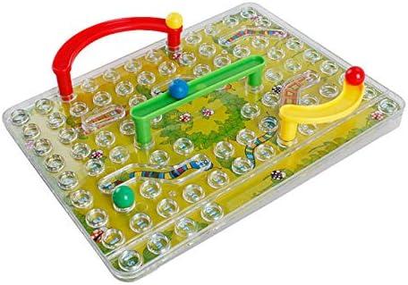 Mryishao RompecabezasJuego De Juguetes para Niños Juego De Laberinto De Serpiente Y Escalera Juego De Tablero De Juguetes Educativos para Niños: Amazon.es: Juguetes y juegos