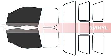 Fits: 2015-2019 Ford F-150 Crew Cab Truck Automotive Window Film Precut Window Tint Kit Includes: Front Door Window precuts in 30/%
