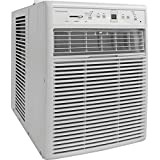 Slider/Casement Room Air Conditioner with Full-Function Remote Control, White
