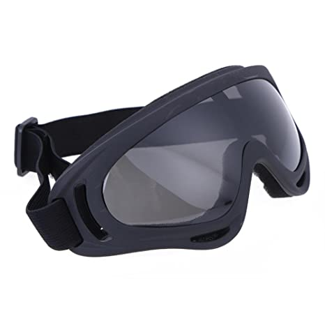 3bde9c4cd2d Zibuyu Uv400 Windproof X400 Unisex Goggles Motorcycle Glasses For Outdoor  Riding Grey  Amazon.in  Car   Motorbike