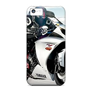 Iphone 5c JnH2230rkId Custom Colorful Yamaha Yzf R1 Series Anti-Scratch Hard Phone Cases -JoanneOickle
