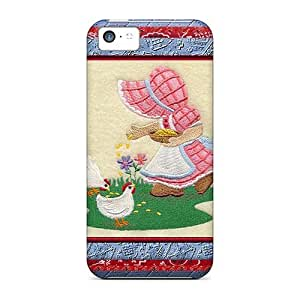 Case Cover I'm Just A Country Girl/ Fashionable Case For Iphone 5c