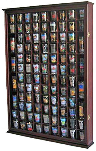 108 shot glass display case - 2