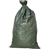 BEST PRICE 30 Green Sandbags --14x26 Sandbags For Sale Sandbag Bags Sand Bags