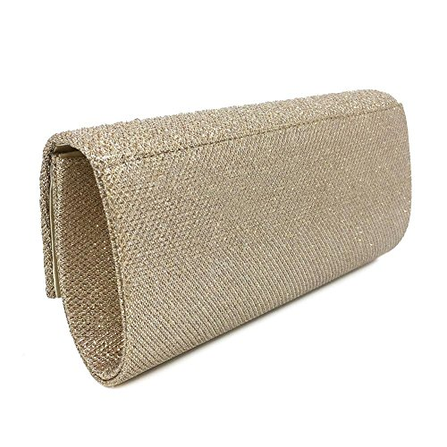 ����ɫ for Crossbody Bags Party Clutch Envelope Women's Metallic Evening Wedding Bridal Handbag xPqORnwf0