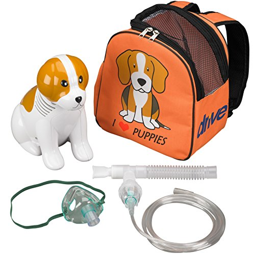 Patches The Pup Portable Inhaler Vaporizer Compressor For Kids - Home Use by Patches Portable Nebulizer Inhaler Vaporizer Compressor