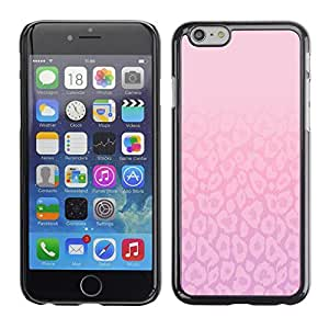 A-type Arte & diseño plástico duro Fundas Cover Cubre Hard Case Cover para Apple (5.5 inches!!!) iPhone 6+ Plus / 6S+ Plus (Simple Life Beautiful Inspirational Pink)