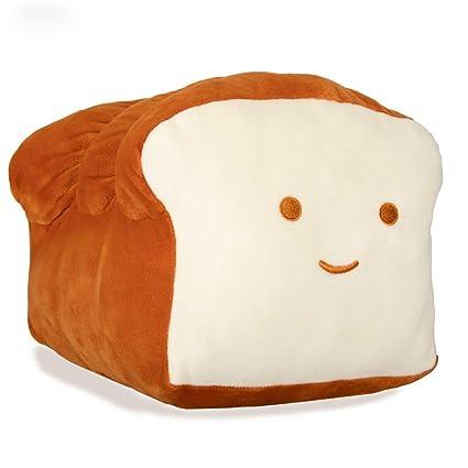 Amazon.com: Aimarn - Almohada de pan de felpa, cojín de ...