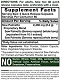 Saw Palmetto Extract   2400mg   120 Capsules