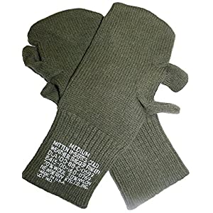 Military Outdoor Clothing 2016 Never Issued U.S. G.I. Trigger Finger Mitten Inserts (2-Pack)
