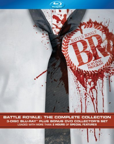 Blu-ray : Battle Royale: The Complete Collection (Blu-ray)