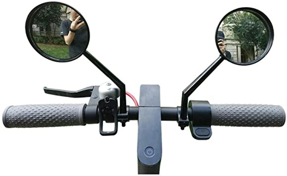 2Pcs Adjustable Bicycle Mobility Scooter MTB Handlebar Rear View Mirror