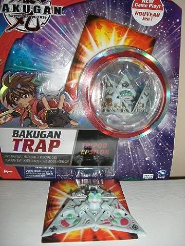 Bakugan Battle Brawlers New Vestroia Trap Tripod Epsilon Haos (Grey) - Special Attack Booster Pack