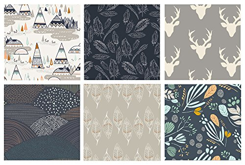 6-fabric-bundle-hello-bear-morning-walk-indian-summer-bonnie-christine-leah-duncan-sarah-watson-art-