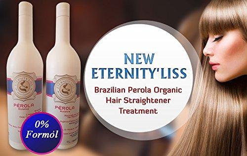 Nueva Eternity 'liss Brasileño Perola Orgánica Tratamiento de Alisamiento (sin formol) Eternity' Liss