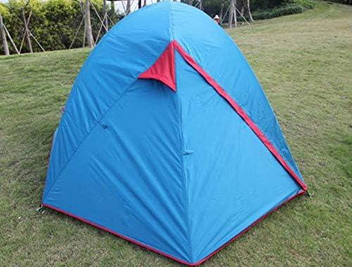 N /A Wwceem Tienda para 3-4 Personas Acampar al Aire Libre Espesamiento A Prueba de Lluvia Wild Camping Picnic Interior de Doble Capa Tienda Agradable