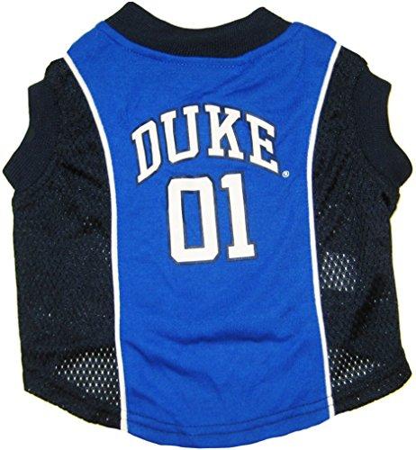 Pets First Duke University Basketball Jersey, Large