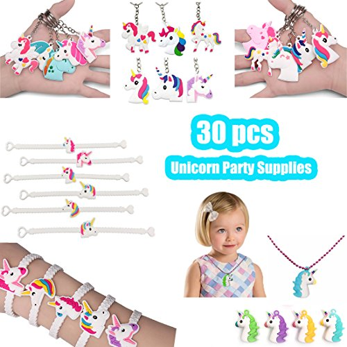 Price comparison product image Unicorn Party Favors, Unicorn Birthday Party Supplies, Unicorn Party Games Gift (30 Pack)