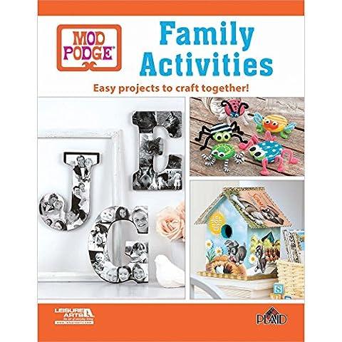Leisure Arts Mod Podge Family Activities (Mod Podge Accessories)