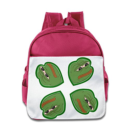 XJBD Custom Personalized Feels Bad Man Kids Children School Backpack For 1-6 Years Old (Jensen Button)