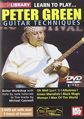 DVD : Michael Casswell - Learn to Play Peter Green (DVD)