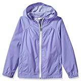 Girl's Switchback Light Rain Coat Hoodie Jacket Fairytale Light Purple Size S
