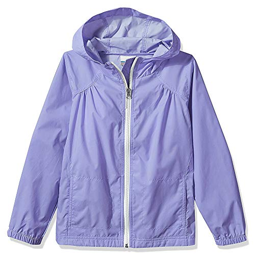 Girl's Switchback Light Rain Coat Hoodie Jacket Fairytale Light Purple Size S by Gooket