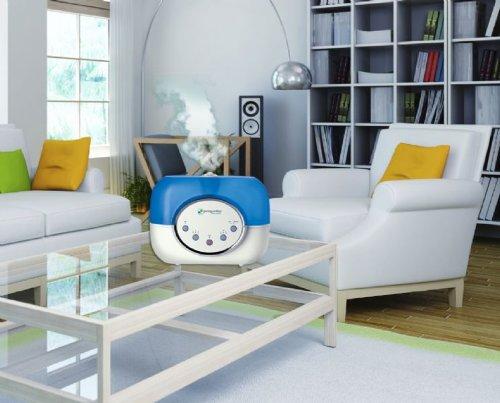 PureGuardian H4610 120-Hour Ultrasonic Warm and Cool Mist Humidifier, 2-Gallon