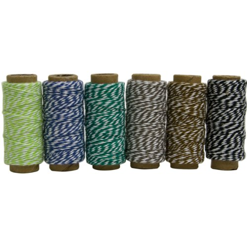 Hemptique Baker's Twine Mini Spool Garden Party, ()
