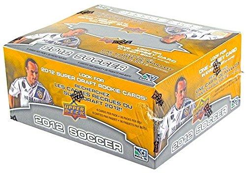 2012 Upper Deck MLS Soccer box (36 pk RETAIL)