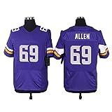 Fanafely Elite 69 Minnesota Team Replica Game Jersey - Purple S|M