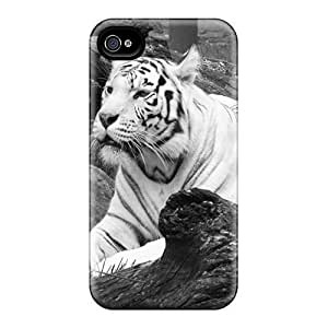 diy zhengHigh Quality White Tiger Case For iphone 5/5s / Perfect Case