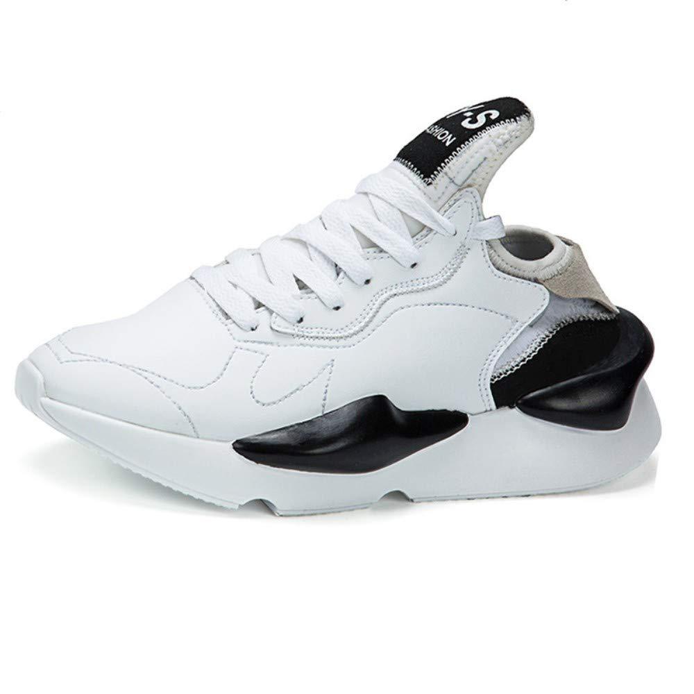 YAYADI Turnschuhe Mens Sport Athletische Athletische Athletische Laufschuhe Schnüren Atmungsaktiv Jogging Trainer Männliche Junge Cool Walking Schuhe 08e2a8